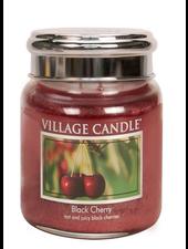 Village Candle Black Cherry Medium Jar