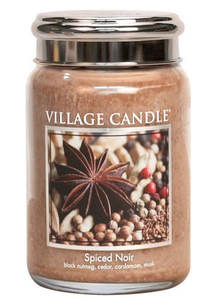 Village Candle Spiced Noir Large Jar