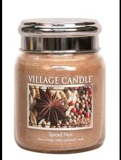 Village Candle Spiced Noir Medium Jar