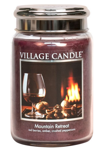 Village Candle Village Candle Mountain Retreat Large Jar