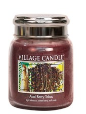 Village Candle Acai Berry Tobac Medium Jar