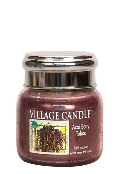 Village Candle Acai Berry Tobac Small Jar