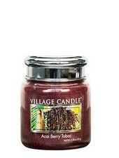 Village Candle Acai Berry Tobac Mini Jar