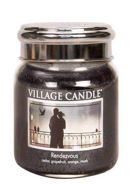 Village Candle Rendezvous Medium Jar