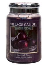 Village Candle Patchouli Plum Large Jar