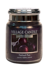 Village Candle Patchouli Plum Medium Jar