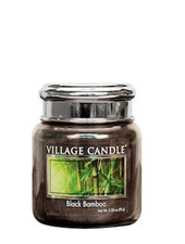 Village Candle Black Bamboo Mini Jar