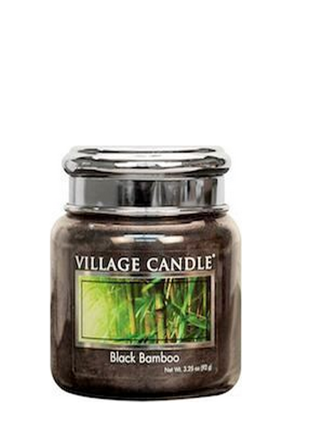 Village Candle Village Candle Black Bamboo Mini Jar