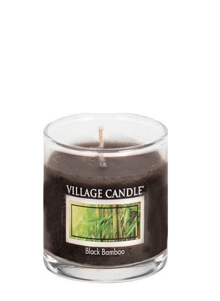 Village Candle Black Bamboo Votive