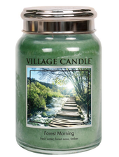 Village Candle Forest Morning Large Jar