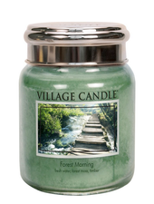 Village Candle Forest Morning Medium Jar