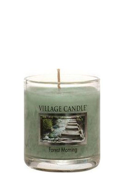 Village Candle Forest Morning Votive