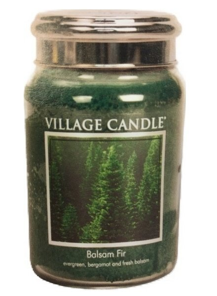 Village Candle Balsam Fir Large Jar