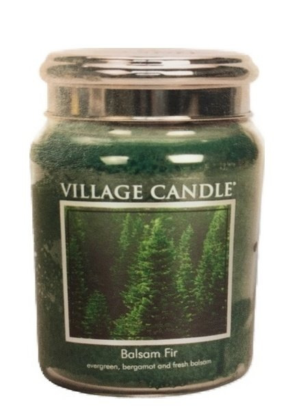 Village Candle Balsam Fir Medium Jar
