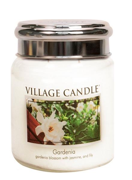 Village Candle Gardenia Medium Jar
