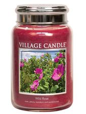 Village Candle Wild Rose Large Jar