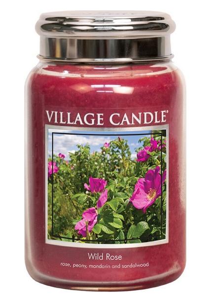 Village Candle Wild Rose Large Jar