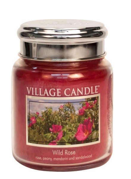 Village Candle Village Candle Wid Rose Medium Jar