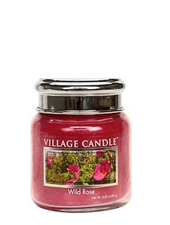 Village Candle Wild Rose Mini Jar