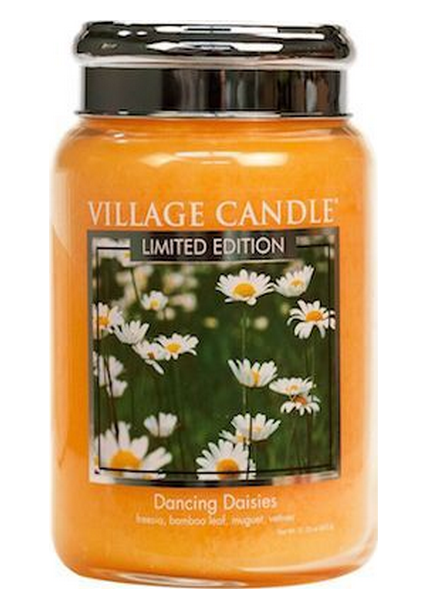 Village Candle Village Candle Dancing Daisies Large Jar
