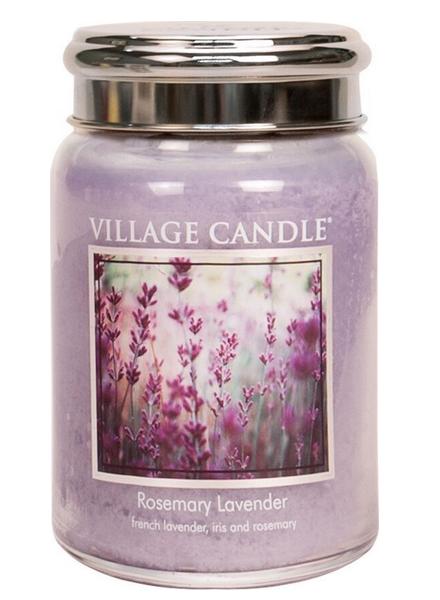 Village Candle Rosemary Lavender Large Jar