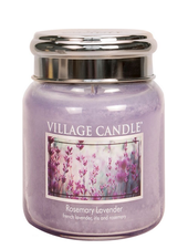 Village Candle Rosemary Lavender Medium Jar