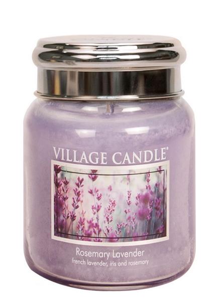 Village Candle Rosemary Lavender Medium Jar