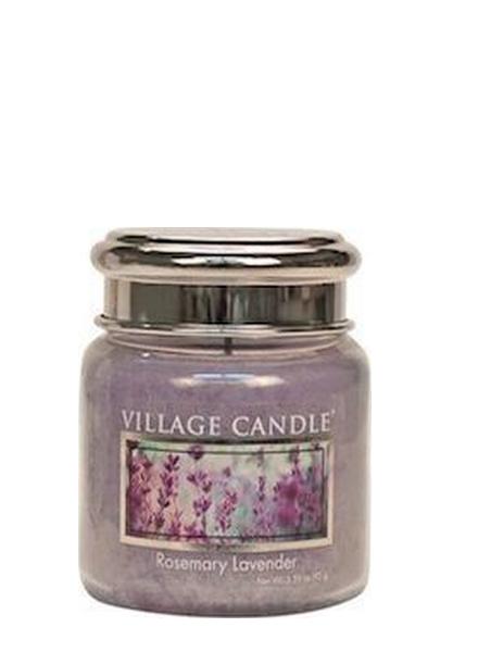 Village Candle Rosemary Lavender Mini Jar
