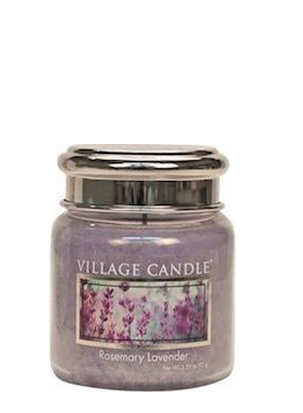Village Candle Village Candle Rosemary Lavender Mini Jar