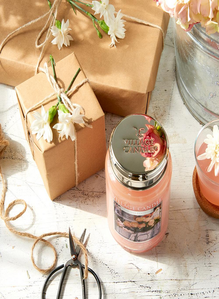 Village Candle Village Candle English Flower Shop Medium Jar