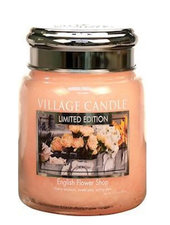 Village Candle English Flower Shop Medium Jar
