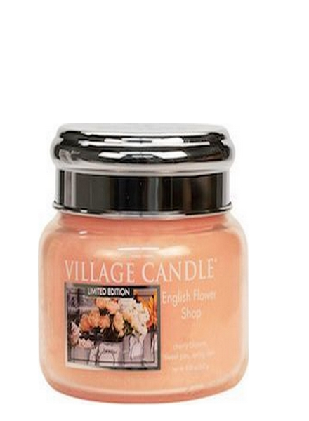 Village Candle English Flower Shop Small Jar