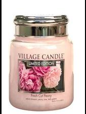 Village Candle Fresh Cut Peony Medium Jar