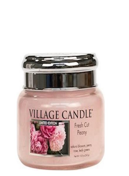 Village Candle Fresh Cut Peony Small Jar