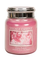 Village Candle Cherry Blossom Medium Jar