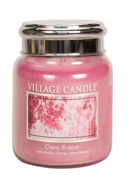 Village Candle Village Candle Cherry Blossom Medium Jar