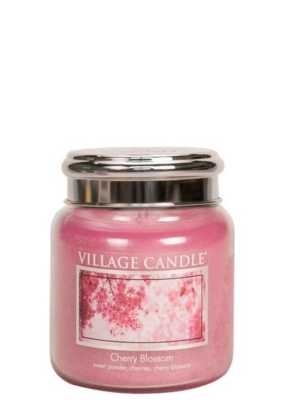 Village Candle Cherry Blossom Mini Jar