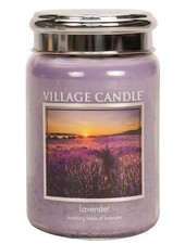 Village Candle Lavender Large Jar