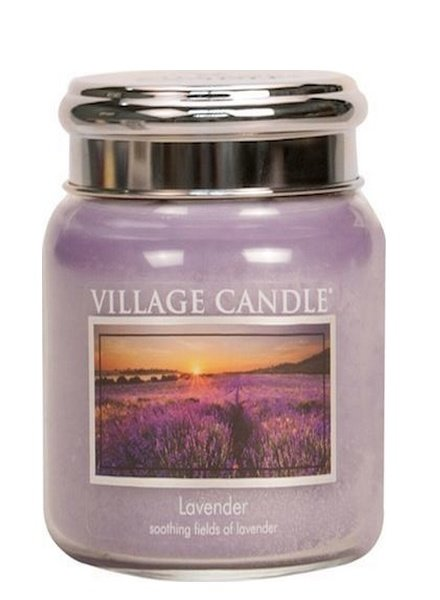 Village Candle Lavender Medium Jar