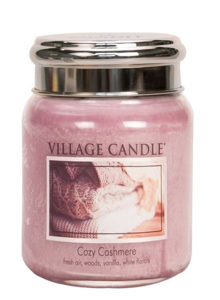 Village Candle Cozy Cashmere Medium Jar
