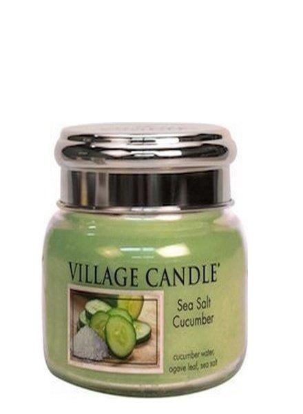 Village Candle Sea Salt Cucumber Small Jar