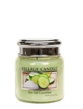 Village Candle Sea Salt Cucumber Mini Jar