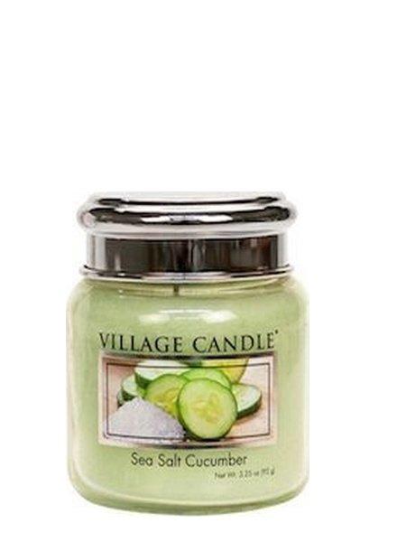 Village Candle Sea Salt Cucumber Mini Jar