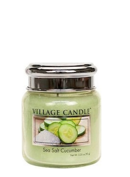 Village Candle Village Candle Sea Salt Cucumber Mini Jar