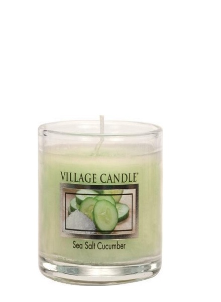 Village Candle Village Candle Sea Salt Cucumber Votive