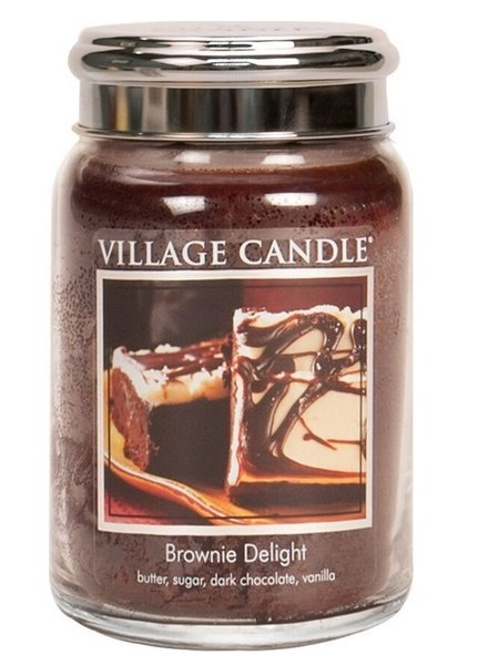 Village Candle Brownie Delight Large Jar