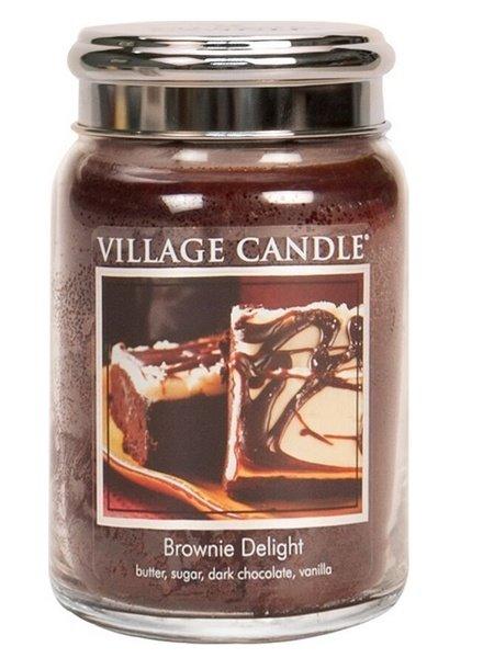 Village Candle Brownie Delight Large Jar