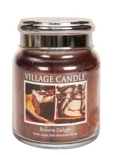 Village Candle Brownie Delight Medium Jar