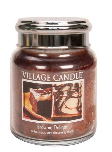 Village Candle Brownie Delight Medium Jar