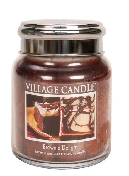 Village Candle Village Candle Brownie Delight Medium Jar